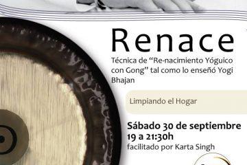 re-nacimiento yóguico con gong