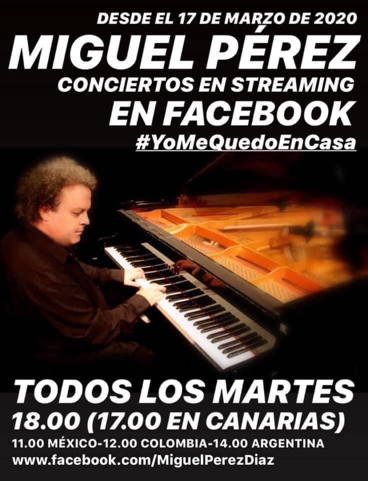 Concierto Miguel Pérez Martes